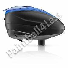 Dye Rotor LTR Paintball Loader Blue on Black