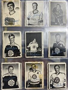 1970-71 OPC NHL Deckle Edge Full Set 1-48 Bobby Orr Gordie Howe Henri Richard