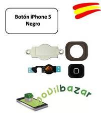 BOTON HOME FLEX IPHONE 5 NEGRO. ENVÍO DESDE ESPAÑA