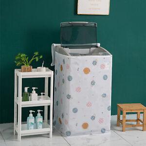 Printing PEVA Sunscreen Dust Proof Washing Machine Cover Waterproof Cas VnFDAU