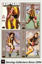 1994 Dynamic AFL Sensation Trading Cards Base Card Team Set Hawthorn (6)