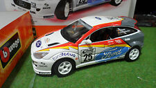 FORD FOCUS RALLYE ALLEMAGNE #25 Rally au 1/18 BURAGO KIT MONTE voiture miniature