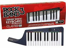 NEW Sony PS3 Rock Band 3 Wireless Keyboard Game Controller clavier piano in Box