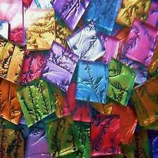 "100 Pieces Van Gogh Mix Mosaic Tile Glass Tiles 1/2"" Heavenkiss made in Usa"