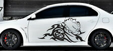 Wall Stickers Vinyl Decal Car  Boat Floral Vinyl Graphics Left & Right Side z976