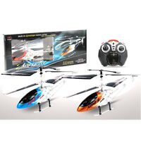 3.5 CHANNEL METAL REMOTE CONTROL GYRO HELICOPTER LED LIGHTS TRI-BAND FLYING RC