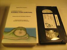 Rare VHS Tape A WOMAN'S PLACE Science for Survival BULLFROG FILMS [Z10b6]