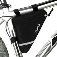 Dreieck Fahrradtasche Rahmentasche Werkzeugtasche Oberrohrtasche für Radfahren