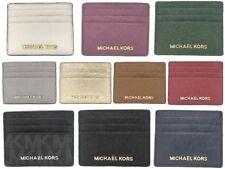 Nuevo con etiquetas Jet Set Viaje Michael Kors Grande de cuero titular de la tarjeta de crédito (Seleccione color)