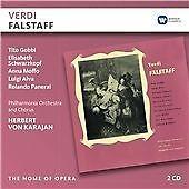 Herbert von Karajan - Verdi: Falstaff 2 CD Set New