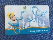 Cinderella Disney gift card collectible only-  no $ value or points on it