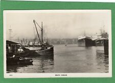 South Shields Harbour Fishing Boats RP pc used Masons  Ref H583