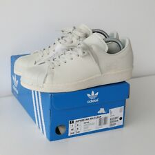 new product 35703 95e37 Adidas Originals Superstar 80 S Clean Cordovan Chaussures Blanc Taille UK  6.5