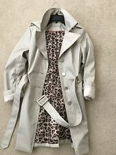 Calvin Klein trench coat water resistant