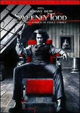 SWEENEY TODD 2 DISC SPECIAL EDITION DVD MOVIE *NEW* AUS EXPRESS JOHNNY DEPP