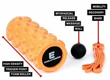 Foam Roller 3-in-1 Deep Tissue Complete Mobility Kit