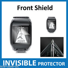 TomTom Multi Sport GPS Watch INVISIBLE FRONT Screen Protector - Military Grade