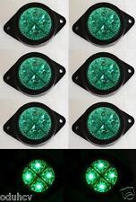 8x 12v LED Verde Lateral Luz de señalización para el carro Punta FURGONETA BUS