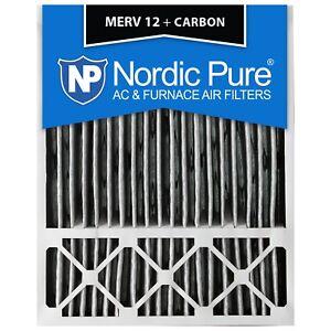 20X25x5 Air Filter Merv 12 13 Carbon Furnace Charcoal Activated 11 Fiber 4