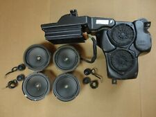 Bose 11-Piece Car Sound System *Powered* Speakers Audi A6 S6 RS6 C5 1997-2004