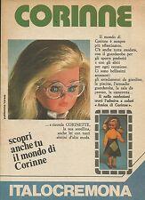 X9855 Corinne - ITALOCREMONA - Pubblicità 1976 - Advertising