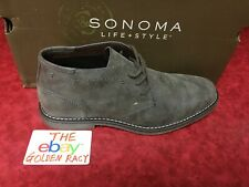 New SONOMA life + style® Men's SNBRAYDONTAY SHOES BOOTS SZ 8 Color GRAY TAN