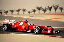 Ferrari F1 Formula One Automotive Car Wall Art Giclee Canvas Print Photo (223)