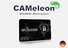 1x NFC Blocker I RFID blocking card I für EC-Karten, Kreditkarten, Ausweise