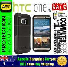 Genuine Otterbox Commuter fitted case cover for HTC One M9 Black Tough Strong