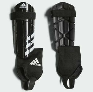 adidas Reflex Shin Pads Guards Football Ankle Protector Sizes Boys Youths NEW