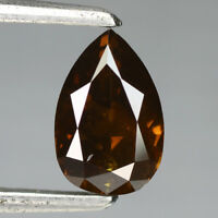 Video! 0.85 Ct 100% Untreated Natural Fancy Intense Cognac Red Diamond