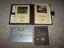 1997 Land Rover Discovery Owner Manual User Guide SD SE SE7 4.0L V8 4WD