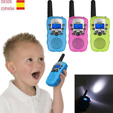 Mini Walkie Talkie PMR 446 8 Canales Vox Walkie Talkies Para Niños Juguet Regalo