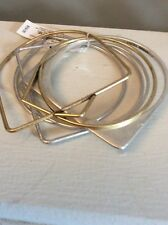LUCKY BRAND Two Tone Geo Bangle Set of six  $59 807a