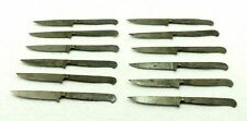 * Lot of 12 Vintage Solingen Knife Fixed Blank Blade Hunting Knives  Germany *