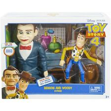 2-Pack Benson and Woody Movie Action Figure Disney Pixar Toy Story 4 Kids Gift