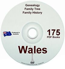 Family History Tree Genealogy Wales Free Postage