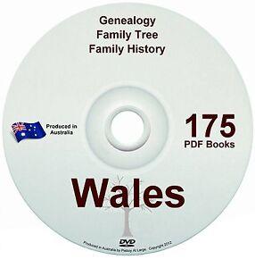 Family History Tree Genealogy Wales Free Postage