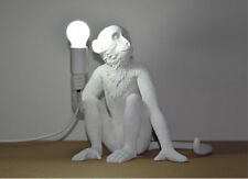 Seletti Monkey Lamps White Monkey Sitting Lamp Designer Wall Lamp Fixture Modern