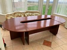 More details for conference table and 9 leather chairs
