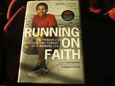 Running on Faith : The Principles, Passion,... JASON LESTER HD SIGNED