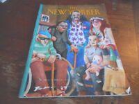 APRIL 22 1996 NEW YORKER vintage magazine - SENIOR CITIZEN HIPPIES