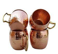 100% Pure Coper Hand Hammered Copper Moscow Mule Mugs / Cups Copper Mug02
