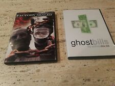 2 illusion Dvds Factory Sealed ( Justin Miller ) + Ghost Bills ( Andrew Mayne)
