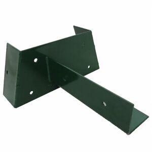 Schaukelverbinder grün 9x9 Schaukelverbindung für Balken 90x90 mm