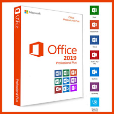 MICROSOFT OFFICE 2019 PROFESSIONAL PLUS 32/64 BIT LICENSE KEY INSTANT DELIVERY ✔