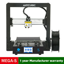 CA Anycubic 3D Printer i3 Mega-S All Metal Frame Colorful TFT Screen PLA ABS TPU