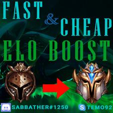 League of Legends Elo Boost   Cheap   LoL Account   EUW/EUNE/NA   Europe America