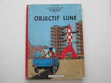 TINTIN OBJECTIF LUNE 1961 B30 BE/TBE