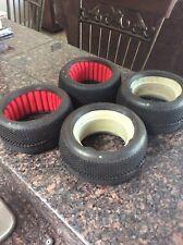 AKA EVO Gridiron 1/8 Truggy Tires (4) (Soft Long Run) with inserts